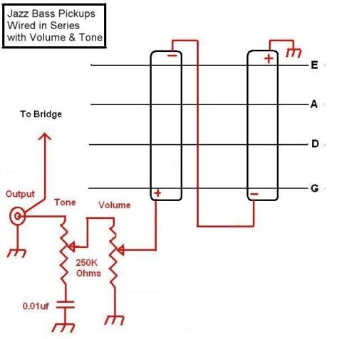 Pickup Series Wiring