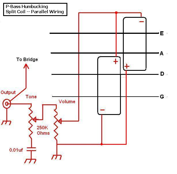 Pickup Parallel Wiring